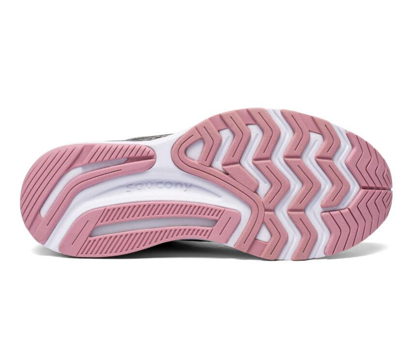suola scarpa stabile per pronazione saucony guide 14 donna grigia