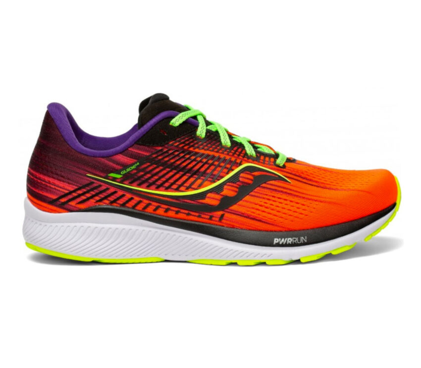 scarpa running donna saucony guide 14 rossa