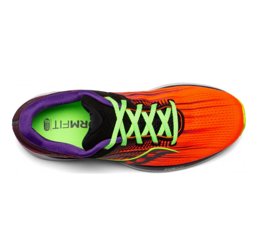 tomaia scarpa running donna saucony guide 14 rossa
