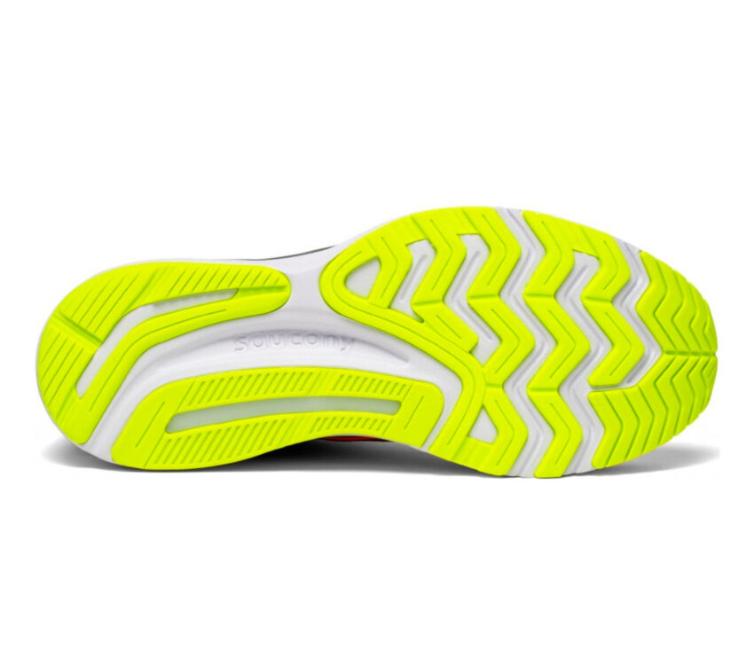 suola scarpa running donna saucony guide 14 rossa