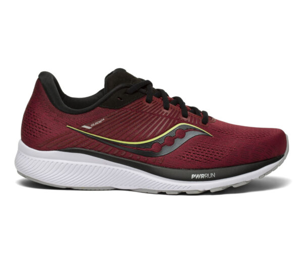 scarpa da running stabile per pronatori saucony guide 14 bordeaux