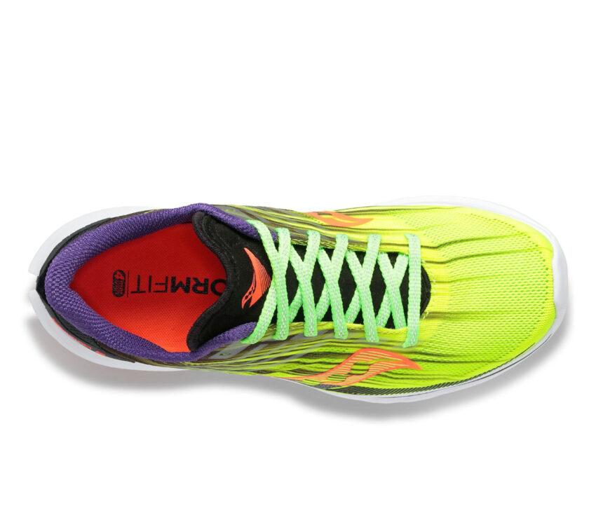 scarpa da running donna saucony kinvara 12 fluo
