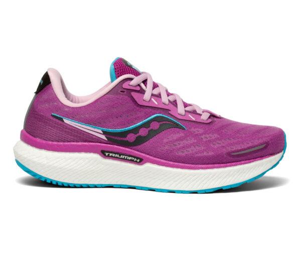 scarpa da running donna saucony triumph 19 viola