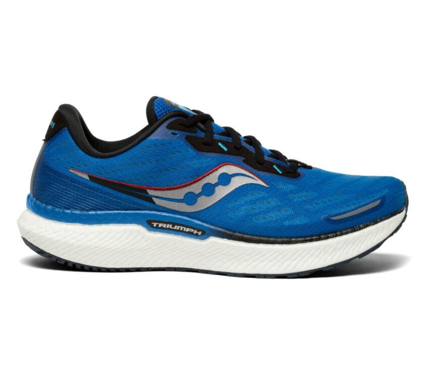 scarpa da running uomosaucony triumph 19 blu
