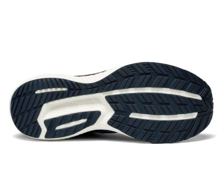 suola scarpa da running uomosaucony triumph 19 blu