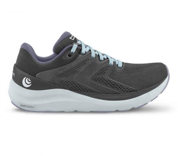 scarpa da running donna ammortizzata topo phantom 2 grigia e viola