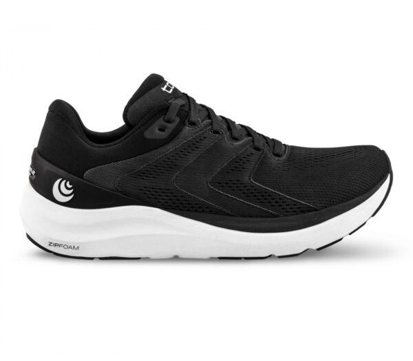 scarpa da running uommo ammortizzata topo phantom 2 nera