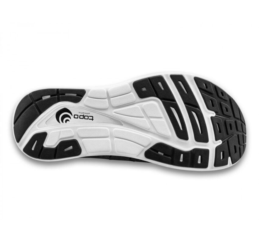 suola scarpa da running uommo ammortizzata topo phantom 2 nera