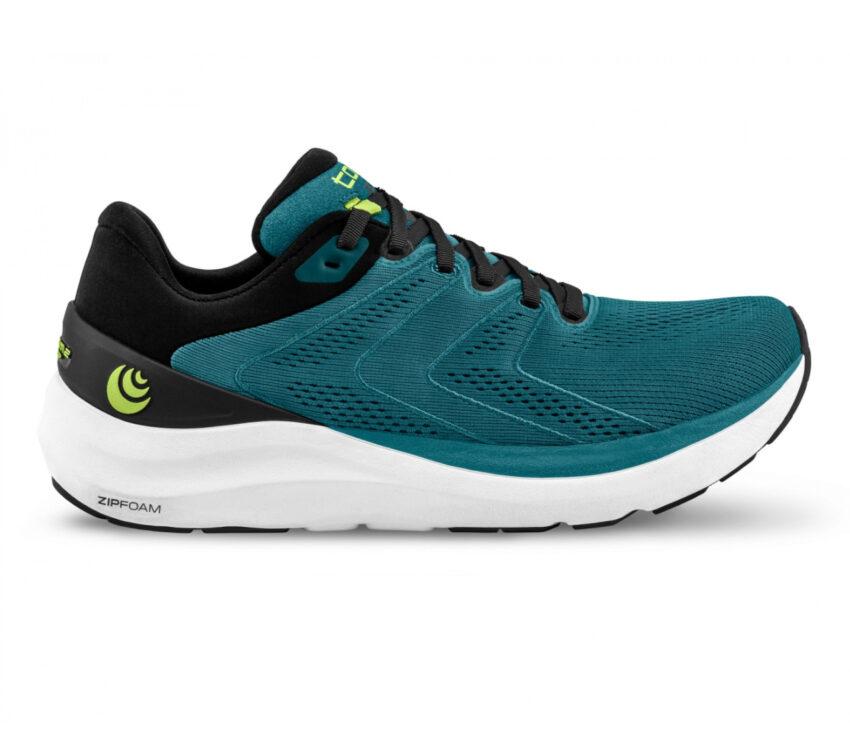 scarpa da running uommo ammortizzata topo phantom 2 blu