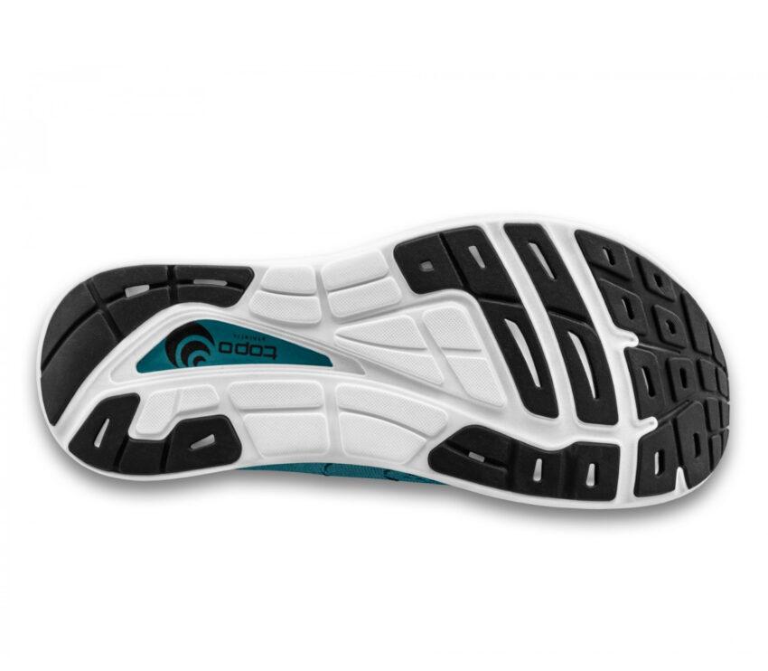 suola scarpa da running uommo ammortizzata topo phantom 2 blu