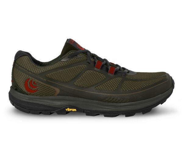 scarpa da trail running uomo topo terraventure 2 oliva