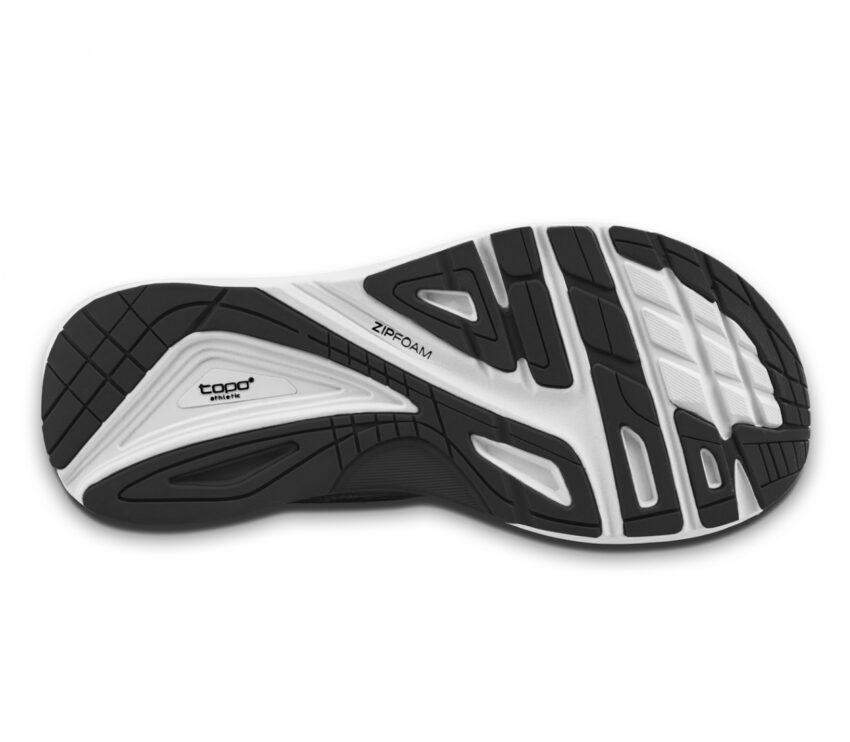 suola scarpa da running donna topo ultrafly 3 nera