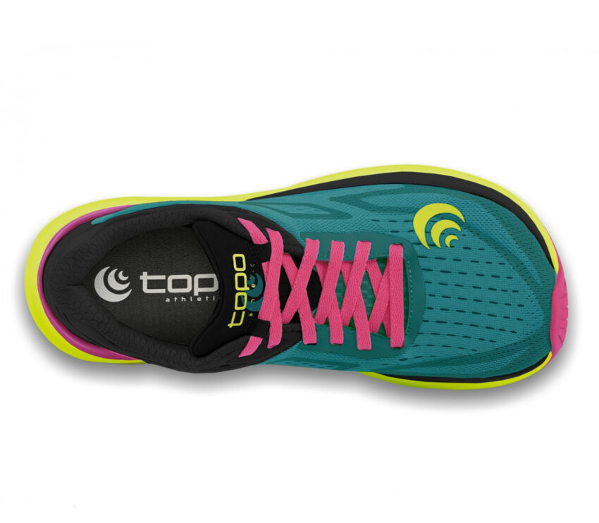 tomaia scarpa da running donna topo ultrafly 3 verde acqua