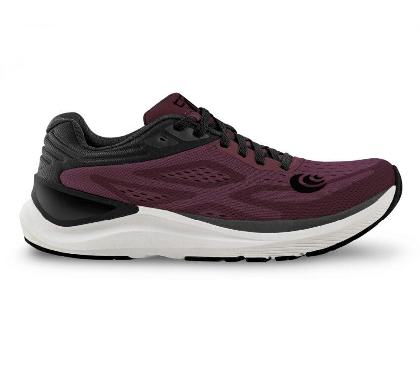 scarpa da running donna topo ultrafly 3 rosso