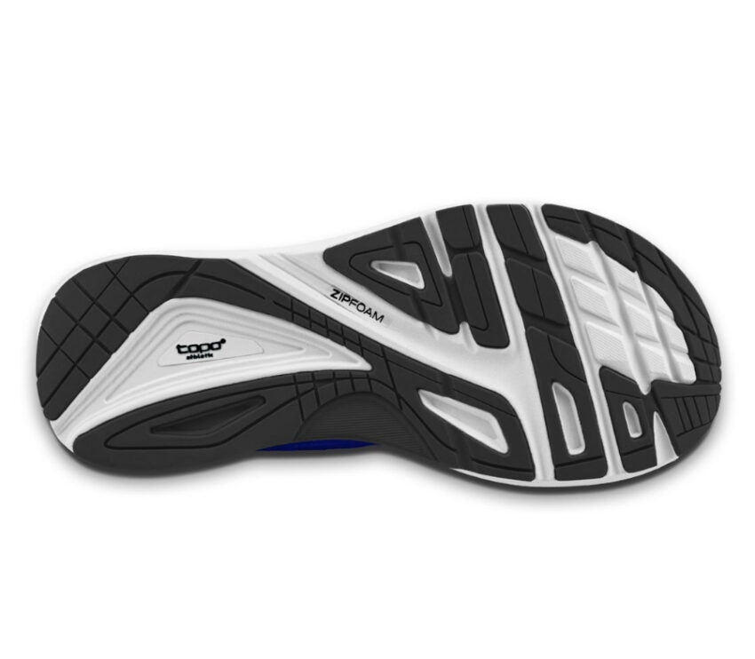 suola scarpa da running ultrafly 3 blu scuro e nero