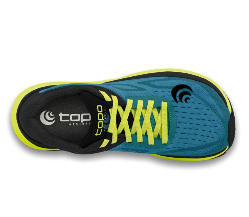 tomaia scarpa da running topo ultrafly 3 blu da uomo