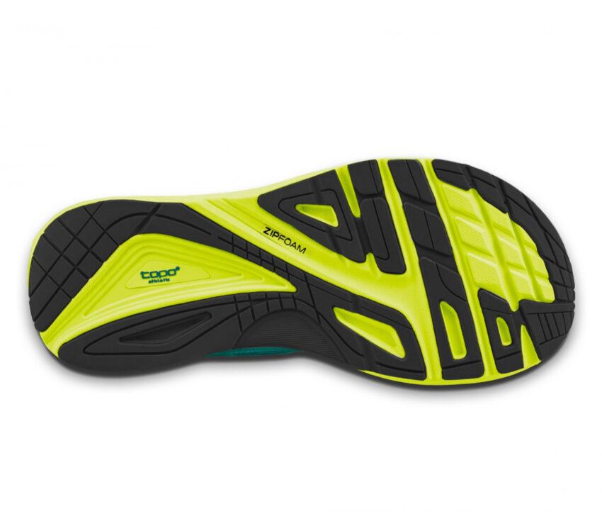suola scarpa da running topo ultrafly 3 blu da uomo