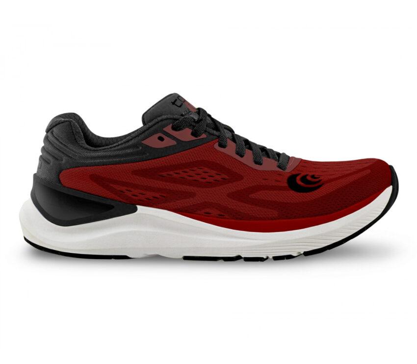 scarpa da running topo ultrafly 3 rossa da uomo