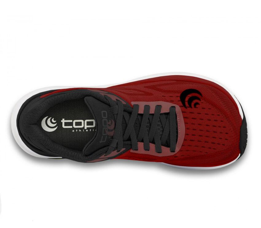 tomaia scarpa da running topo ultrafly 3 rossa da uomo