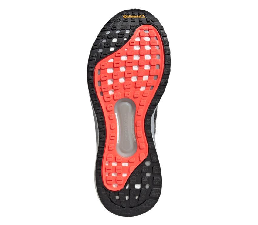 suola scarpa da running stabile da uomo adidas solar glide 4 st nera e rossa