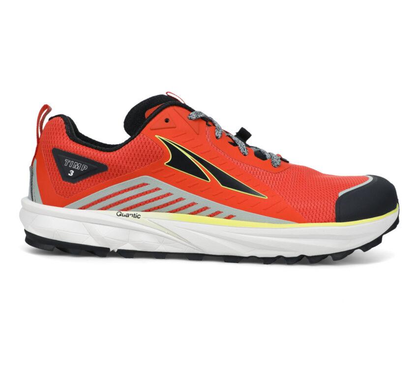 scarpa trail uomo altra timp 3 rossa