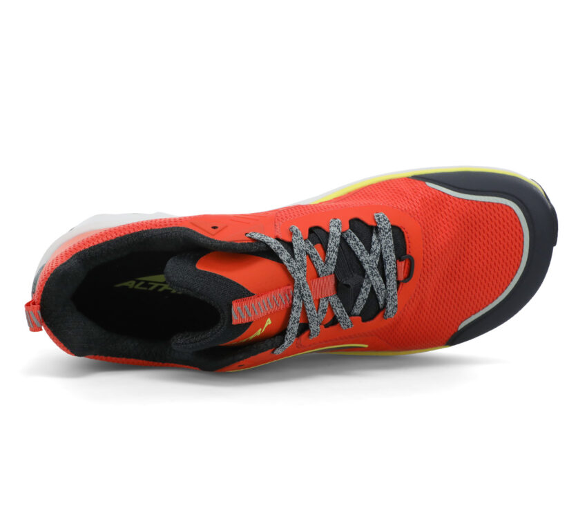 tomaia scarpa trail uomo altra timp 3 rossa