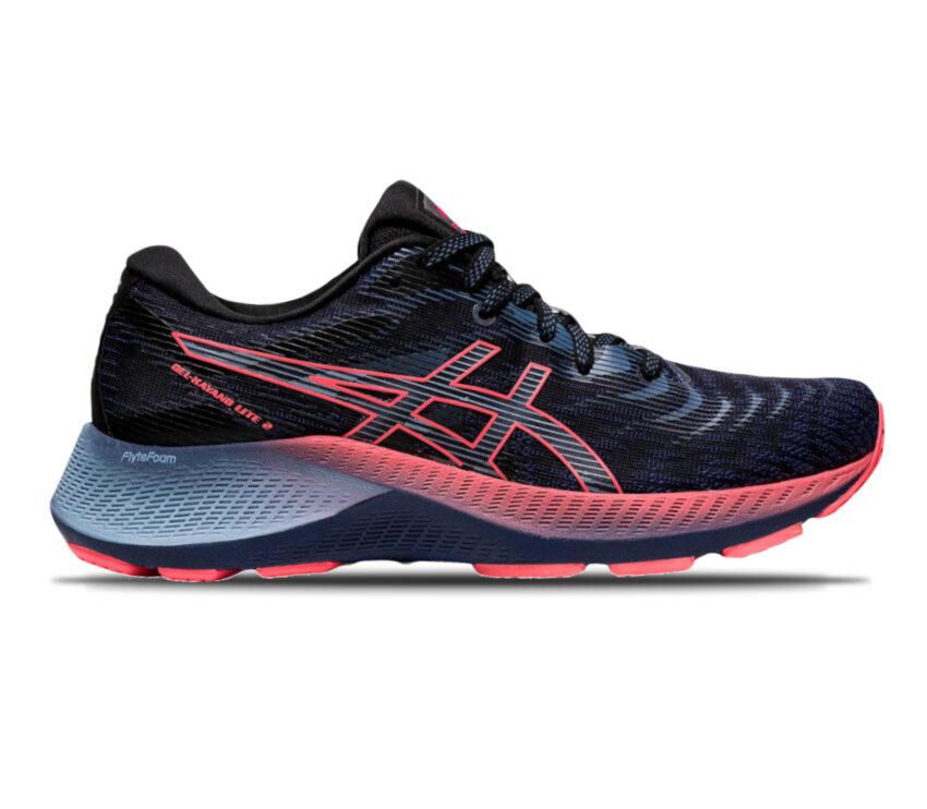 scarpa da running donna stabile e leggera asiks kayano lite 2 blu e rosa