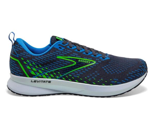 scarpa da running reattiva Brooks levitate 5 uomo blu