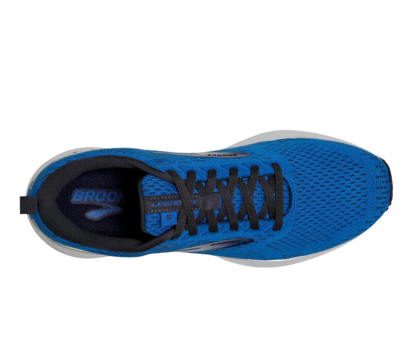tomaia scarpa da running pronatori brooks levitate gts 5 blu