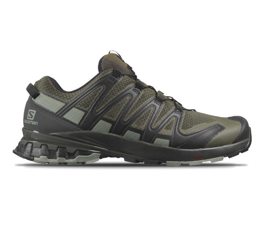 scarpa da trail running salomon xa pro 3d v8 verde scuro