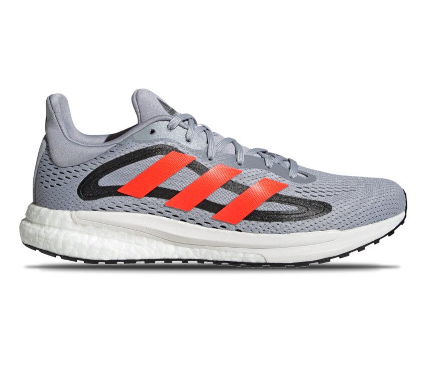 scarpe da running uomo reattive adidas solar glide 4 grigie