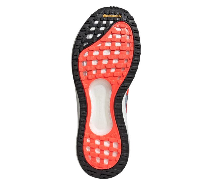 suola scarpe da running uomo reattive adidas solar glide 4 grigie