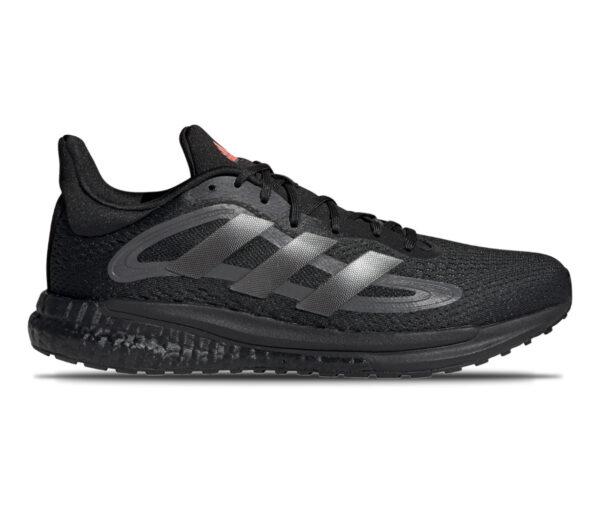 scarpe da running adidas solar glide 4 da uomo colore nero