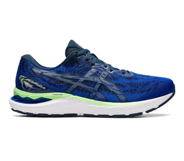 scarpa da running uomo ammortizzata asics cumulus 23 blu