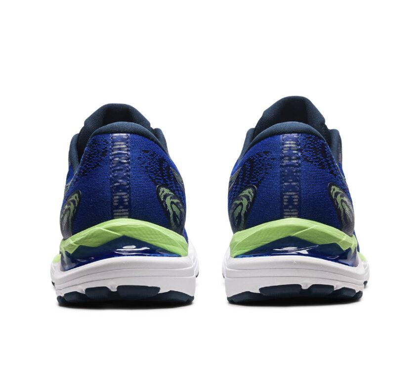 tallone scarpa da running uomo ammortizzata asics cumulus 23 blu