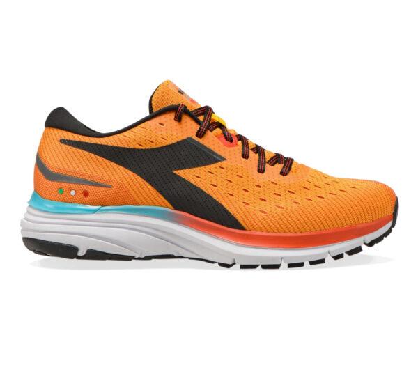 scarpa da running neutra diadora mythos blushield 6 arancione