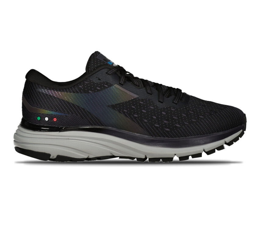 scarpa da running uomo diadora mythos blushield hip 6 nera