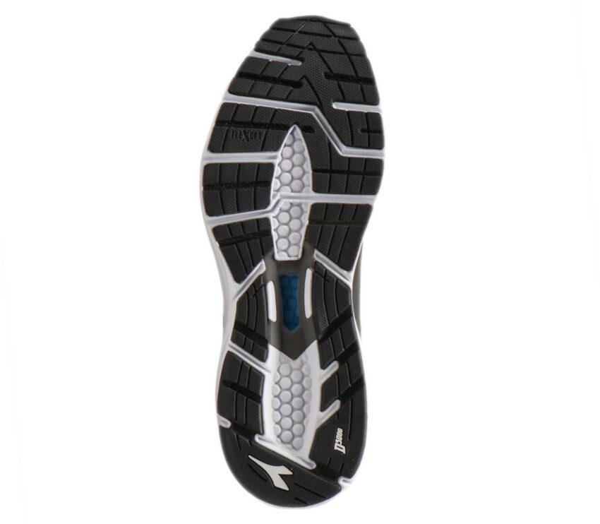 suola scarpa da running uomo diadora mythos blushield hip 6 nera