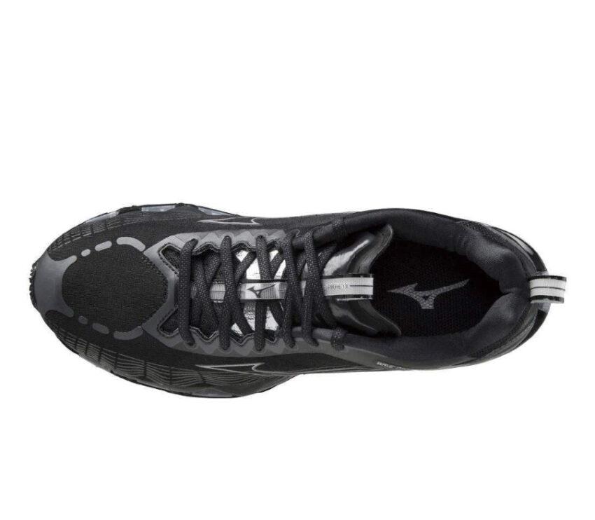 tomaia scarpa da running ammortizzata da uomo mizuno prophecy x nera
