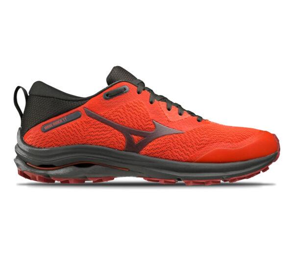 scarpa da trail running e asfalto mizuno rider tt rossa