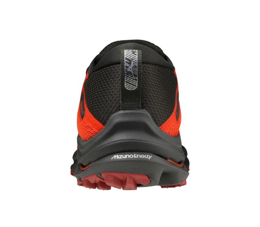 tallone scarpa da trail running e asfalto mizuno rider tt rossa