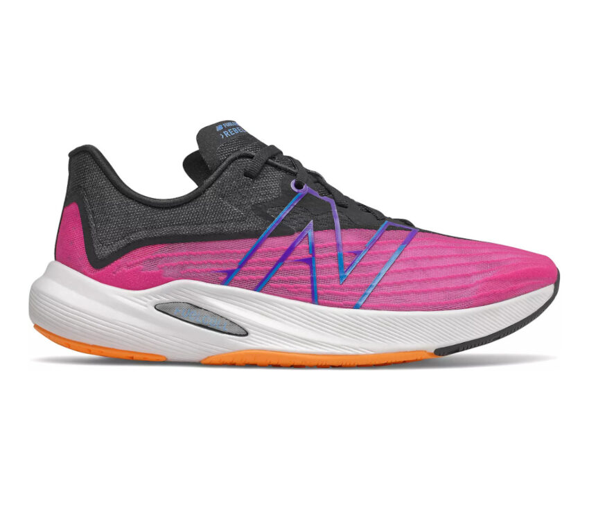 scarpa da running uomo new balance fuelcell rebel 2 viola blu