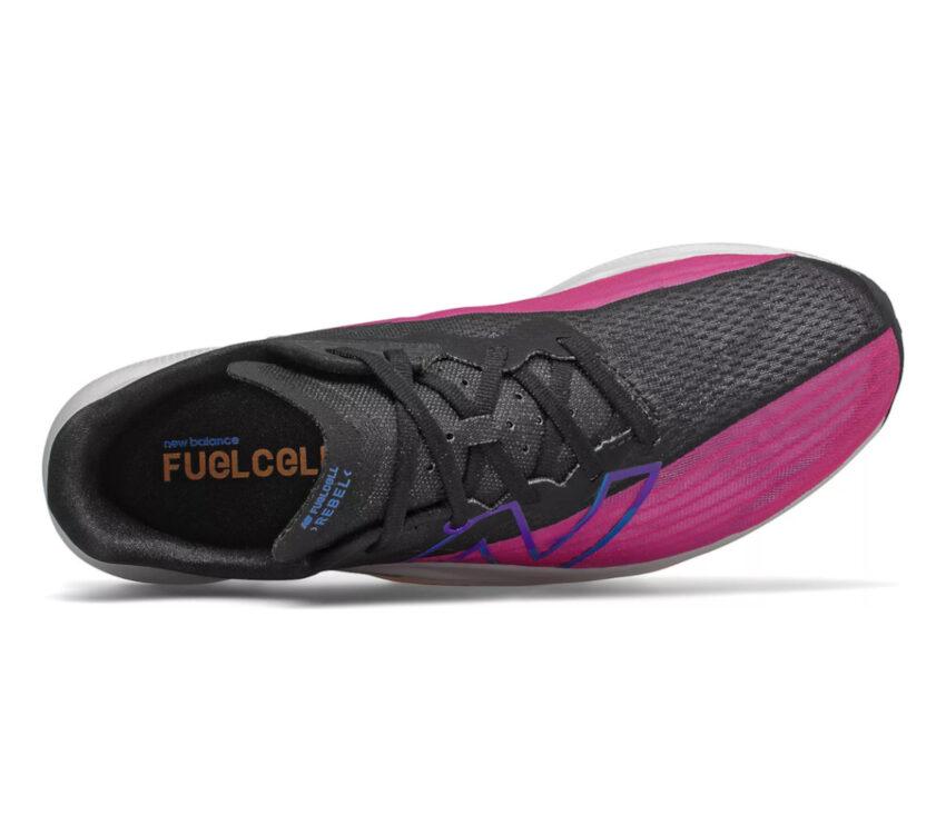tomaia scarpa da running uomo new balance fuelcell rebel 2 viola blu