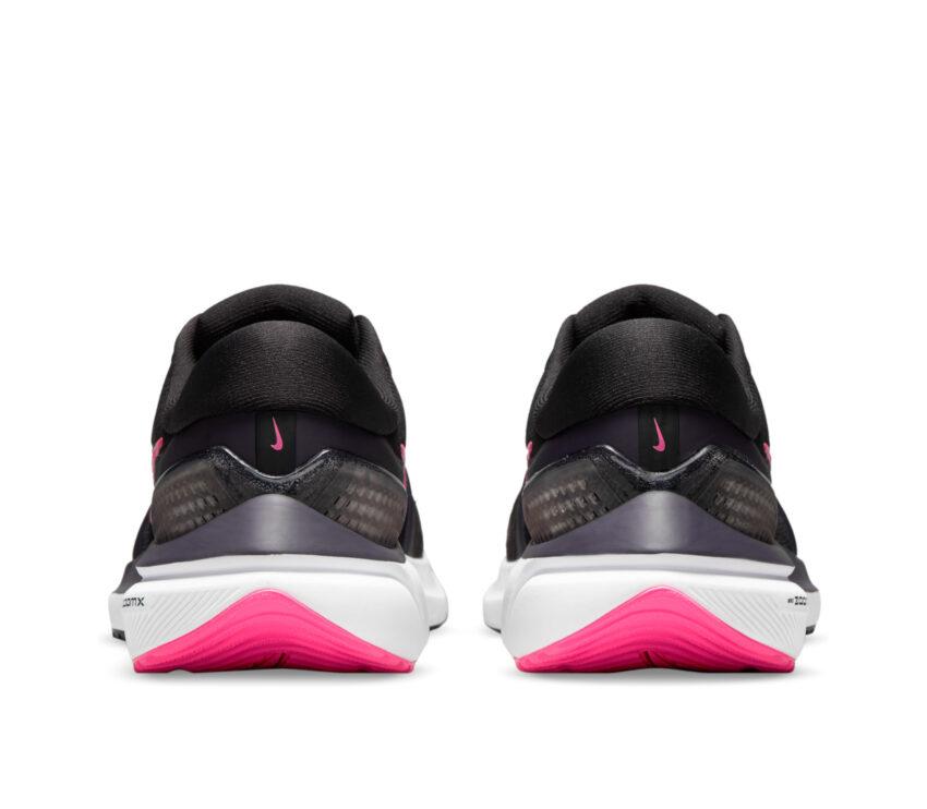 retro scarpe running donna nike zoom vomero nere e rosa