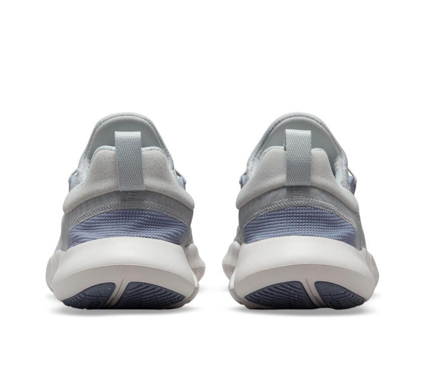 tallone scarpa running uomo barefoot nike free run 5 natural grigia