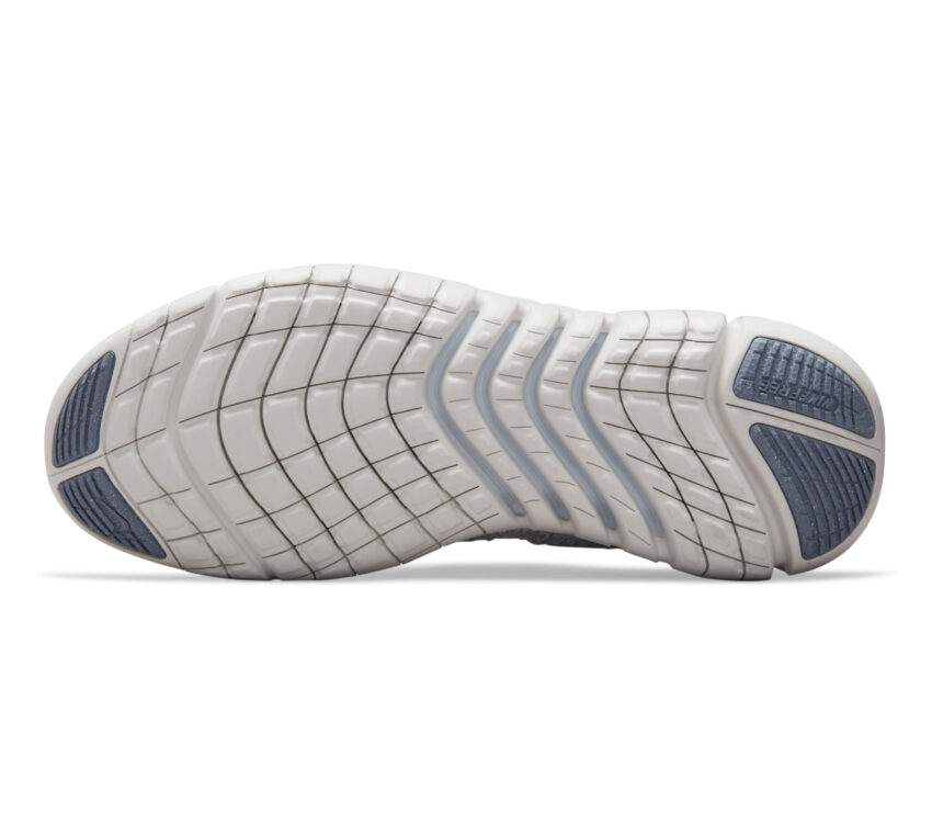 suola scarpa running uomo barefoot nike free run 5 natural grigia