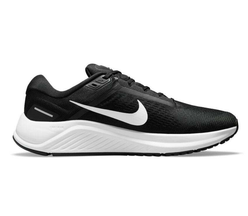 scarpa da running per pronatori uomo nike structure 24 nera