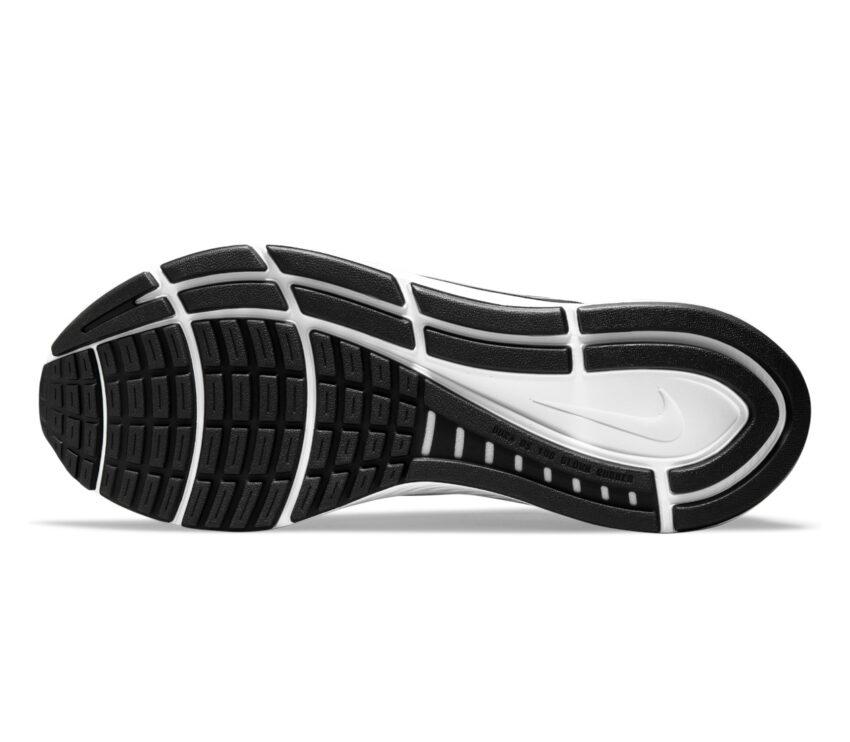 suola scarpa da running per pronatori uomo nike structure 24 nera