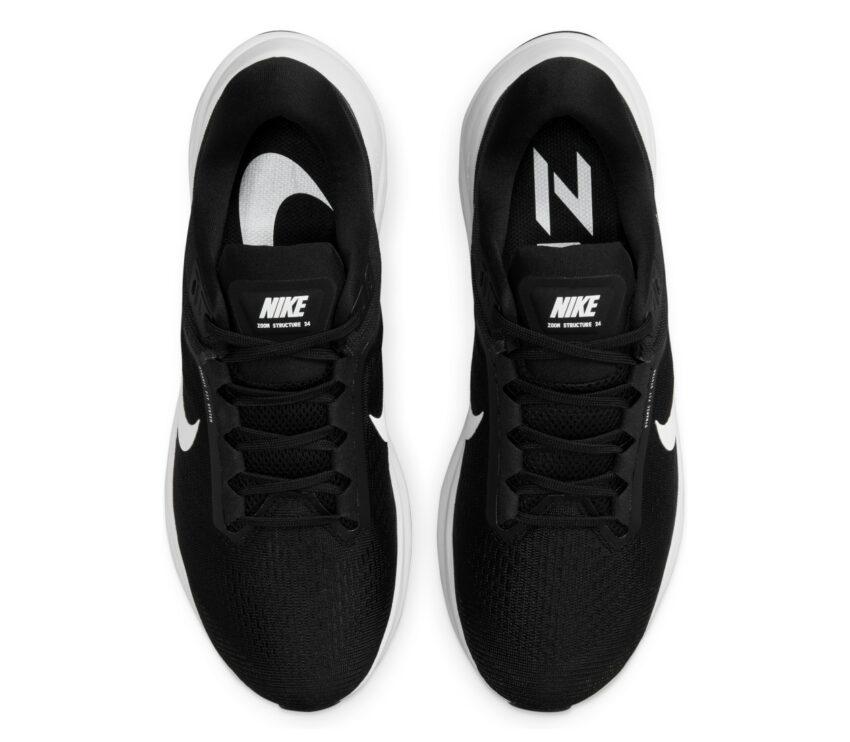 tomaia scarpa da running per pronatori uomo nike structure 24 nera