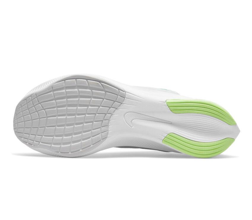 suola scarpe running fibra di carbonio nike zoom fly 4 bianche